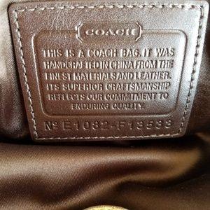 Coach Bags - Coach Signature Stripe Frame Handbag